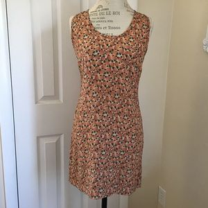 JOIE SILK PINEAPPLE DRESS OR TUNIC SIZE MEDIUM EUC
